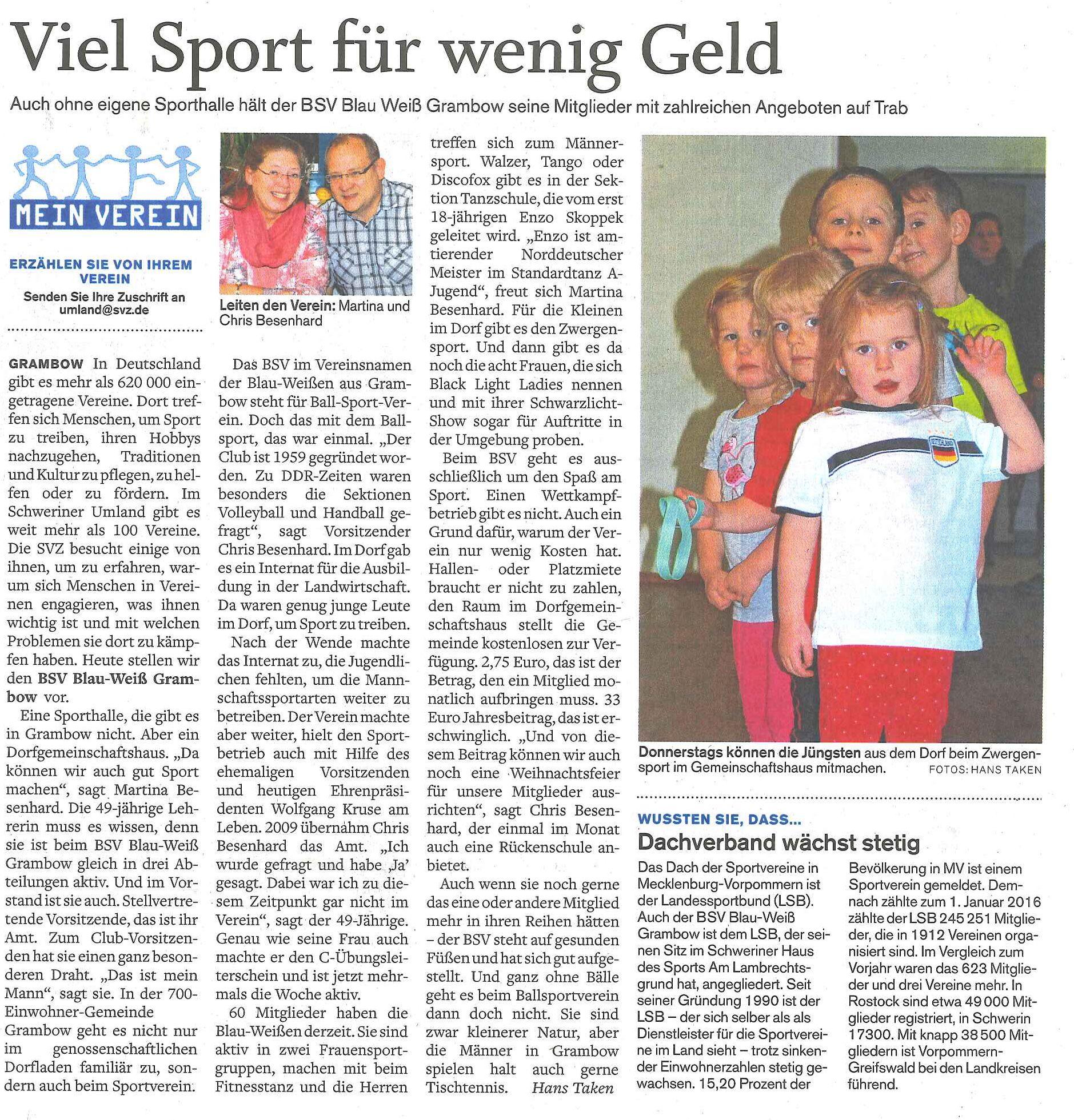 Grambow-Sport